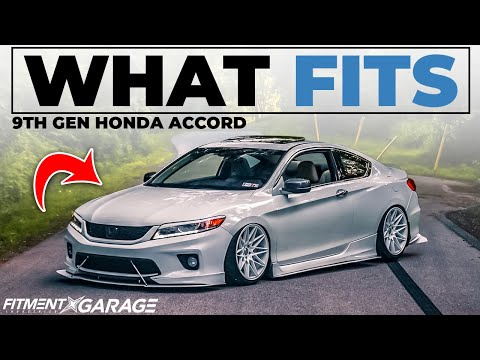 9th Gen Honda Accord | What Wheels Fit