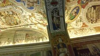 Vatican Museum, Rome - Ceiling and Wall Artwork