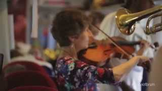 The People's Orchestra Flash Mob on a Virgin Train