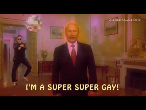 Vladimir Putin Gay Song Looped 10 Mins