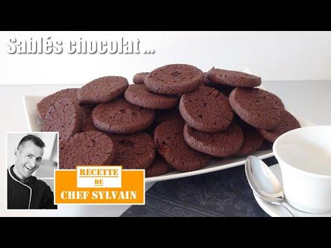 sablés-au-chocolat---recette-par-chef-sylvain