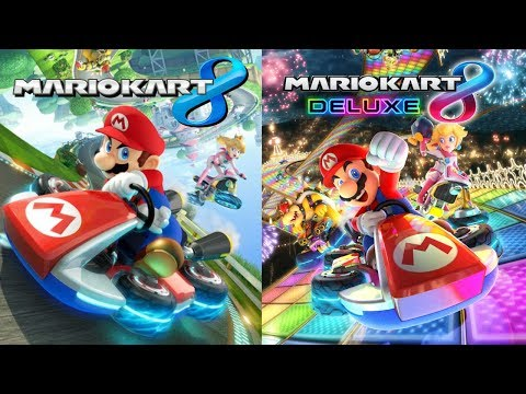 mario kart 8 wii u then mario kart 8 deluxe youtube. Black Bedroom Furniture Sets. Home Design Ideas
