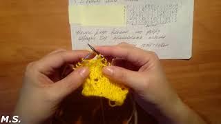 knitting\बुनाई\ Как быстро связать ЛЕТНИЕ узоры и КОФТЫ \ видеоурок Мастер-Класс+ СХЕМА