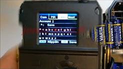 Willfine riistakameran Gmail asetuksien tekeminen manuaalisesti. SMTP asetukset.