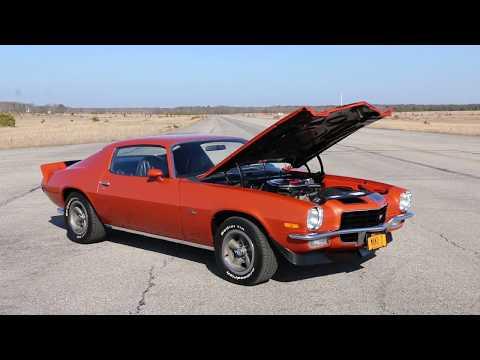 23,657 Mile 1972 Camaro Z28 For Sale~Original Motor~New Paint~VERY ORIGINAL Z28!!