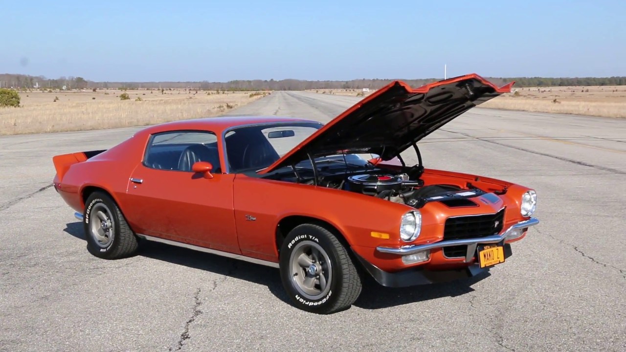23 657 mile 1972 camaro z28 for sale original motor new paint very original z28 youtube. Black Bedroom Furniture Sets. Home Design Ideas