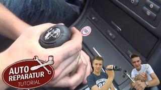 SCHALTKNAUF WECHSELN | M-Schaltknauf Schaltknüppel  [Tutorial] HD gear shift knob change