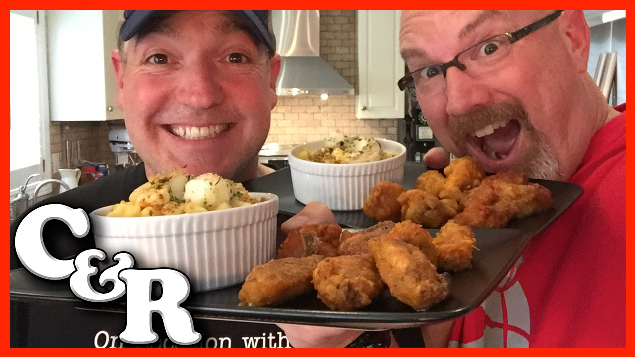 Lobster Mac & Cheese plus Deadly Wing Roulette Recipe - Cook & Review Ep #9