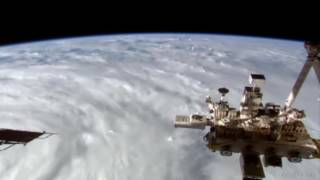Cyclone Debbie from the International Space Station (ISS). Mar 26th 2017, 06:28Z (4.28PM AEST)