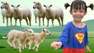 Siêu Nhân Chăn Cừu Và Chăn Dê | Bé Chơi Bé Học Bé Khám Phá | Tập 1 ❤ AnAn ToysReview TV ❤