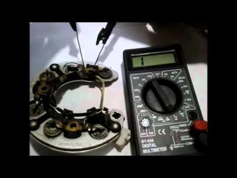 ваз samara диодный мост решаем проблему с зарядкой генератора .
