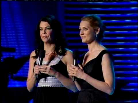 "Guys and Dolls - Lauren Graham & Kate Jennings Grant ""Marry the Man Today""  @ pre-Tony concert"