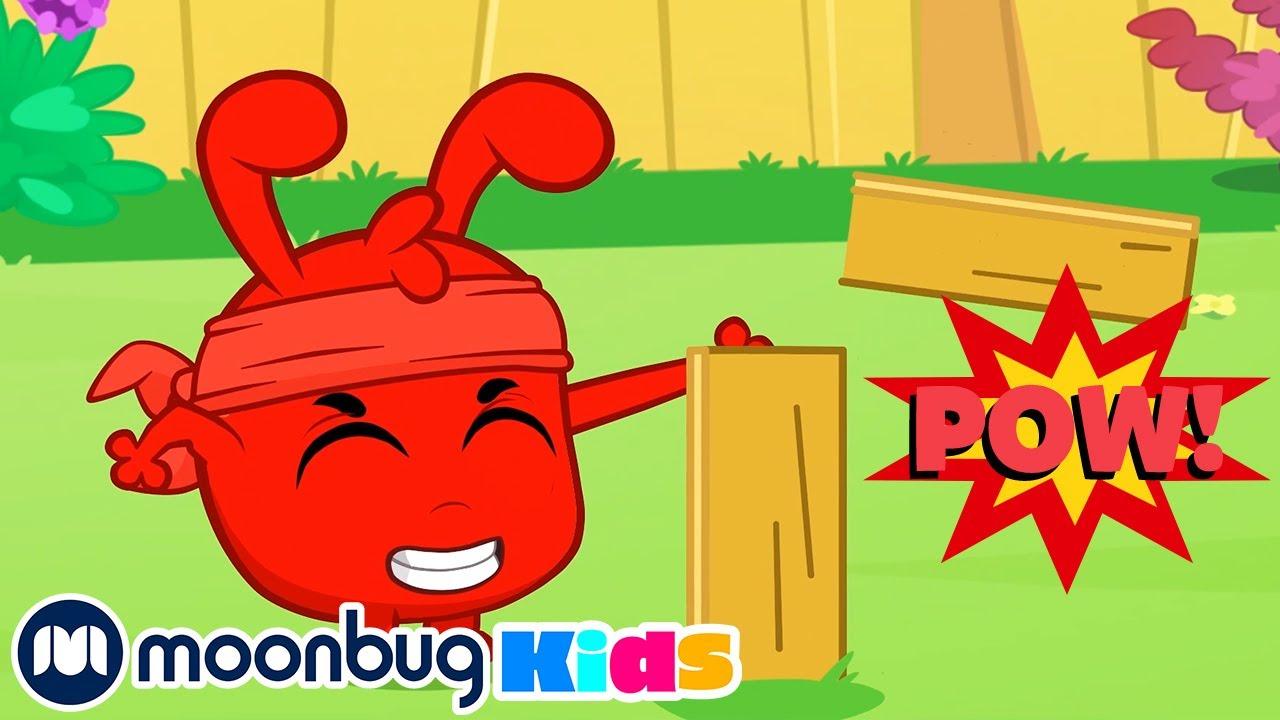 Morphle The SUPER Ninja! - My Magic Pet Morphle | Cartoons For Kids | Morphle TV