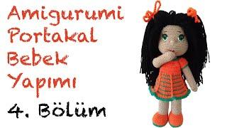 Portakal Kız Amigurumi Bebek - 4. Bölüm: Elbise