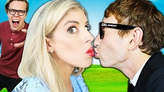 First Date with Best Friend Crush to Make Husband Jealous! Tricks to Win Dream House with Kiss Prank