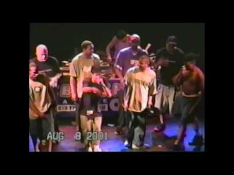 Freestyle Session 2001 - Rhymesayers, Molemen, Juice. Live at The Metro