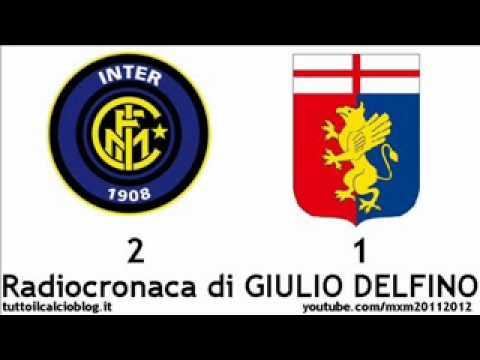 INTER-GENOA 2-1 – Radiocronaca di Giulio Delfino (19/1/2012) COPPA ITALIA – da Radiouno RAI