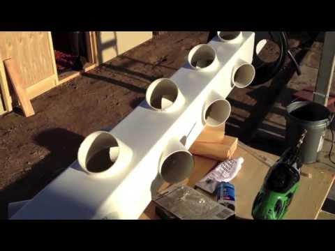 Building Hydroponic Vertical Garden