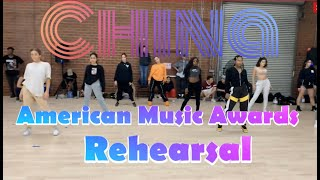 Cover images China - Anuel AA, Ozuna, Daddy Yankee | Rehearsal for Latin AMAs  | Greg Chapkis Choreography