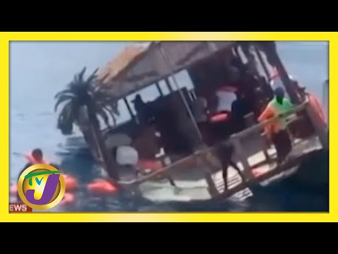 Negril, Jamaica Party Boat which Capsized was Operating Illegally   TVJ News