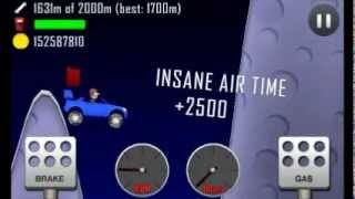 Repeat youtube video Hill Climb Racing: 1752 meters on Moon