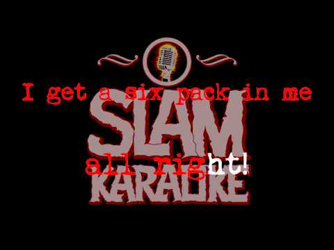 Black Flag - Six Pack (SLAM KARAOKE Version)