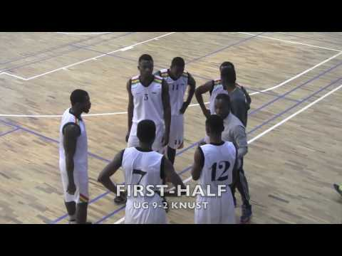 GUSA BASKETBALL UNIVERSITY OF GHANA Vs KNUST