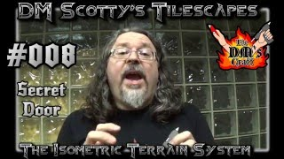 DM Scotty's TILESCAPES Game Terrain SECRET DOOR for D&D and Pathfinder #008(DM Scotty shows you how to easily make a secret door for your Tilescapes. Join DM Scotty's Facebook group for DM's Craft updates and info: ..., 2016-02-04T22:59:14.000Z)