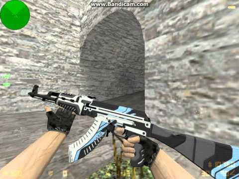 Cs:go ak-47 | vulcan hd para cs 1. 6 youtube.