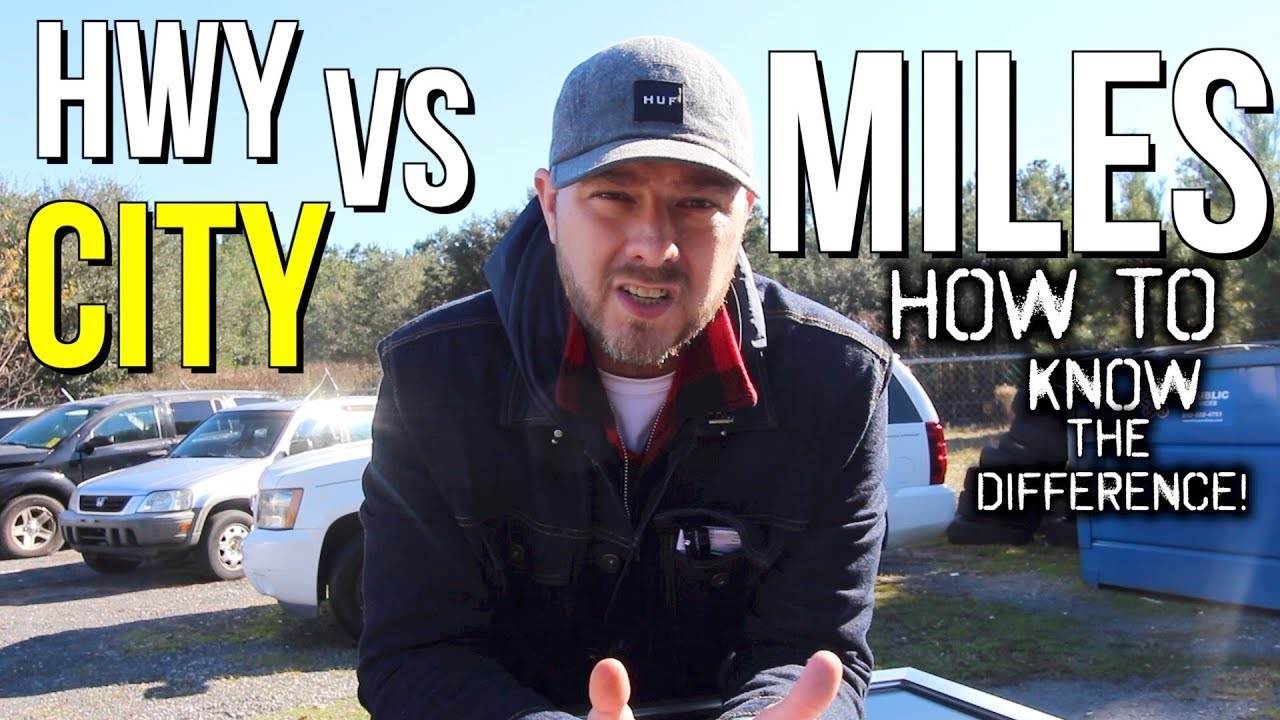 Highway miles vs city miles