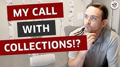 REMOVE COLLECTIONS FROM CREDIT REPORT (My Call w/ Debt Collector!)