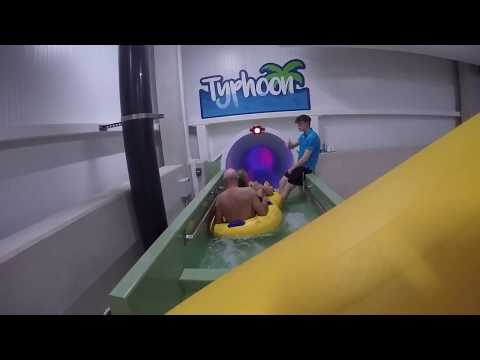 Tropical Cyclone + Typhoon Water Slide at Center Parcs 2017