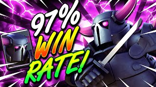 +1000 TROPHIES IN ONE PUSH!! NEW PEKKA DECK IN CLASH ROYALE!!