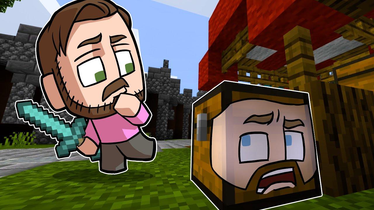 Minecraft Prop Hunt Challenge!