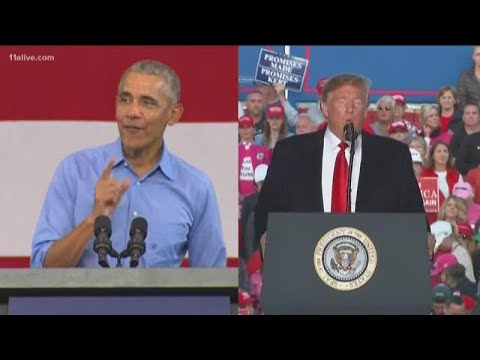 Trump and Obama expected to battle for votes in South Florida