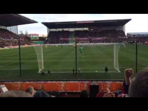 Stoke v Arsenal 1-0 Penalty from Johnny Walters!