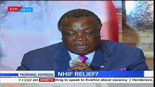 COTU SG Francis Atwoli announces the withdrawal of NHIF initial plan