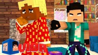 Minecraft Vida: BABA DEMITIDA !! #75