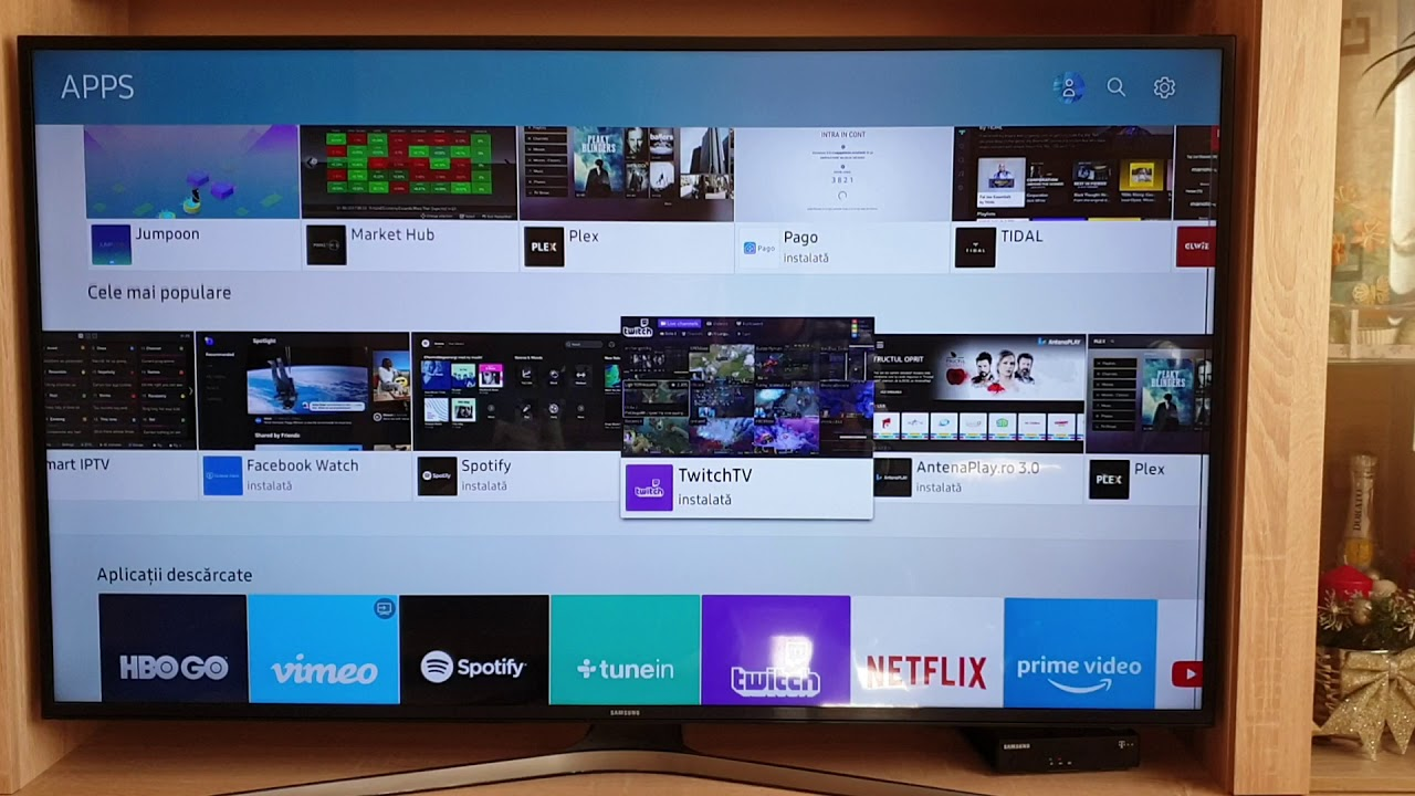 Twitch app on Samsung smart tv NOT WORKING!!!