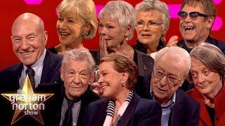 The BEST of Sirs \u0026 Dames On The Graham Norton Show Part Two