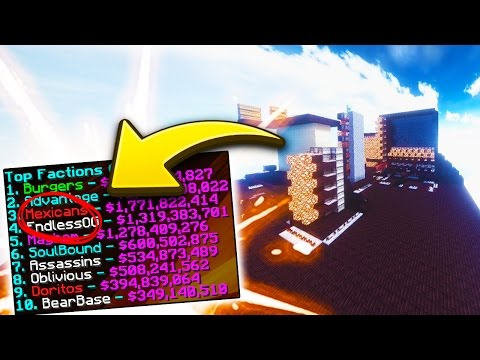 KNOCKING OUT A TOP 10 ENEMY FACTION Minecraft Factions - Episode 40 (Spirit Season)