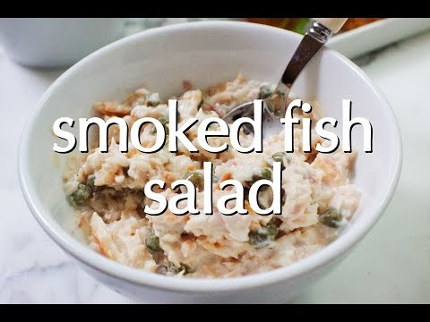 Dinner Party Tonight Shorts: Smoked Fish Salad