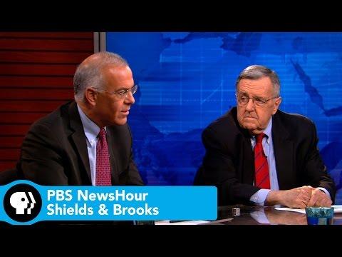 Shields and Brooks on Harry Reid's retirement, Yemen turmoil response