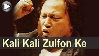 Nusrat Songs - Kali Kali Zulfon Ke Phande - Gham Hai Ya Khushi - Nusrat Fateh Ali Khan
