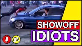 Showoff Crashes \u0026 Fails 2020 #1 with Commentary | Idiots in Cars