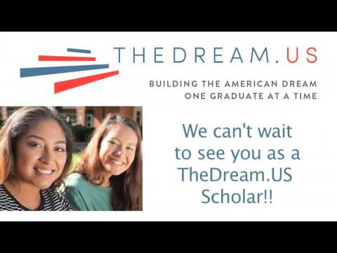 TheDream.US National Scholarship 2017-18