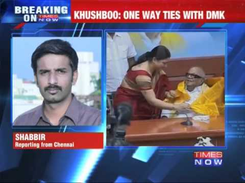 Actor Khushboo quits DMK