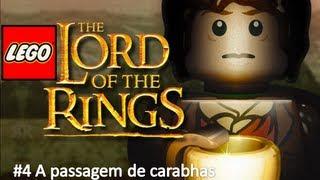 Gameplay Lego game Senhor dos Anéis - # 4 A passagem de caradhras