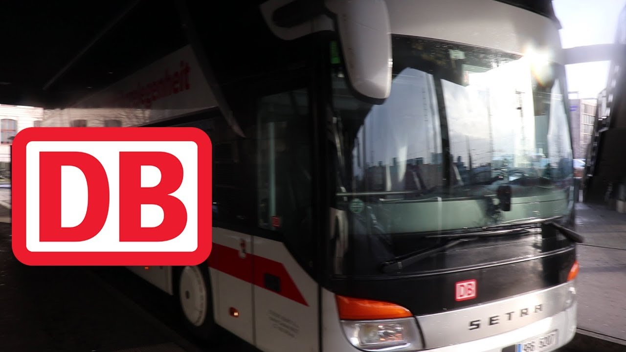 Munich To Prague Via Db Bus Youtube