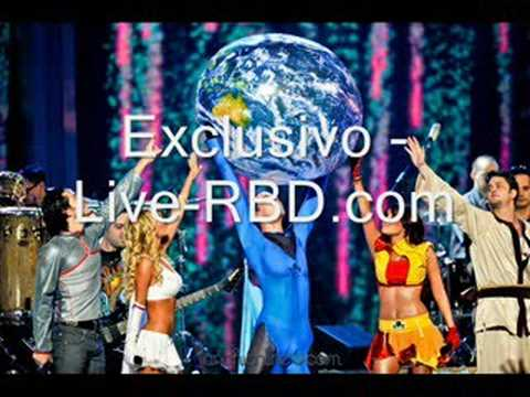 RBD - Estar Bien [ Electro Remix ] Live-RBD.com